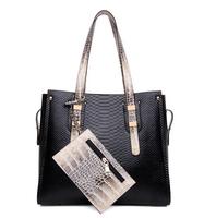 Crocodile bags fashion women messenger bags women handbag bag vintage leather handbags 2015 ladies bag female handbag   A70-804
