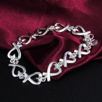 Novel Popular Elegant Purely Unique Delicate 925silver Bracelets