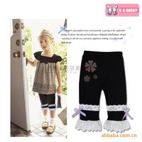 France kk rabbit children's leggings wholesale girls leggings SL1200