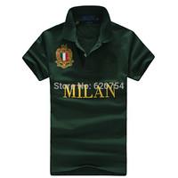 Have big horse 2014 brand Fashion Polo shirt men polo ralph men short sleeve casual dress world famous brand Polo shirts #2205