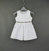 New fashion Girls' agaric sleeveless dress