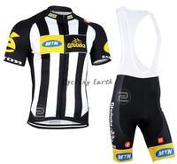 New arrive! MTN 2015 short sleeve cycling jersey bib shorts set bike bicycle wear clothes jersey pants,gel pad,free shipping!