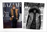2015 Men's  Cotton top-faux Flax palace Men plush fur hooded vest fashion fur coat