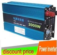 2000W Modified SINE WAVE INVERTER 24v  to 220V  car  inverter