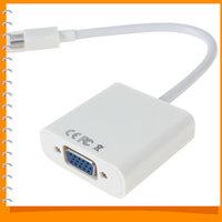 Mini Displayport DP to VGA Adapter Display Port DP Male to VGA Female Cable Converter for Apple Macbook Mac Pro Air Dropship
