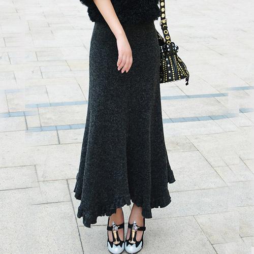 Fashion knitted skirts 5