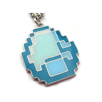 Free shipping  Anime Jewelry MINECRAFT Sandbox Game  My World Strange Necklace Cooly Afraid Necklace12pcs/lot