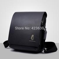 Promotion 2015 Men's Genuine Leather Bag Men Shoulder Bags Handbag Man Messenger Bags Ipad Bag