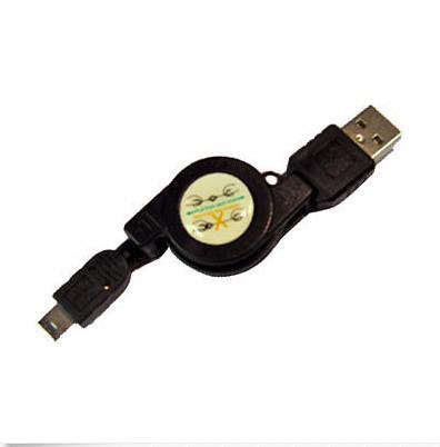 Retractable USB Data Cable for Sony Ericsson Xperia Acro S, Xperia Sola,X10(China (Mainland))