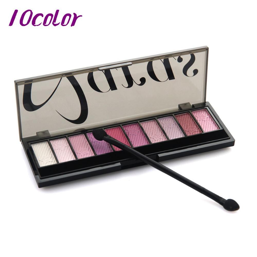 2015 new brand 10 Color Eyeshadow Makeup Eye Shadow Palette,Super Flash Diamond Eyeshadow high quality glitter -free shipping(China (Mainland))
