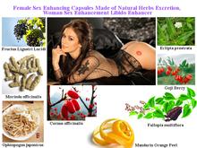 Formula to Improve Female Bed Time Sensation, Extend Orgasm Time, Lubricate Vagina, 50 pcs/lot