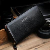 New Arrival Top Excellent Men Wallet Business Zipper Purse for Man,Fashion Men's Wallets Genuine Leather
