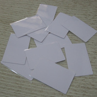 Free shipping 5pcs/lot PVC Contactless Smart RFID IC Card MF1 S50 13.56Mhz Rewritable NFC Cards