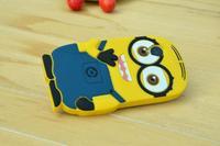 For LG Google Nexus 5 D820 D821 E980 Cute Cartoon Soft Silicon Rubber Back Cover Despicable Me Yellow Minion Case FA014