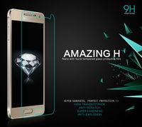9H Genuine Nillkin Premium HD Anti-burst Tempered Glass Screen Protector Film For Samsung Galaxy Alpha SM-G850F G850M G850A G850