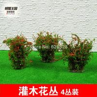 Sand table model material shrubs 04 high:4cm  20pcs
