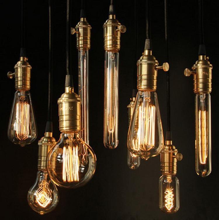 Лампа накаливания IDEA LIGHTING G80, ST64, T45, E27 40W, 110V 240V, 1 ST64,G80