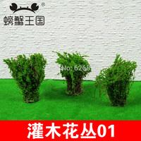 Diy outdoor model material shrubs 01 high:4cm