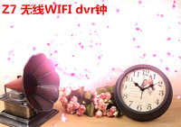 1080P Wifi Hidden Mini Clock Camera H.264 motion detection Wireless IP Camcorder Digital Video Recorder vintage clock camera
