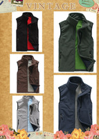 2014 new brand women's ourdoor spring autumn sleeveless Windproof fleece vest 5colors free shipping