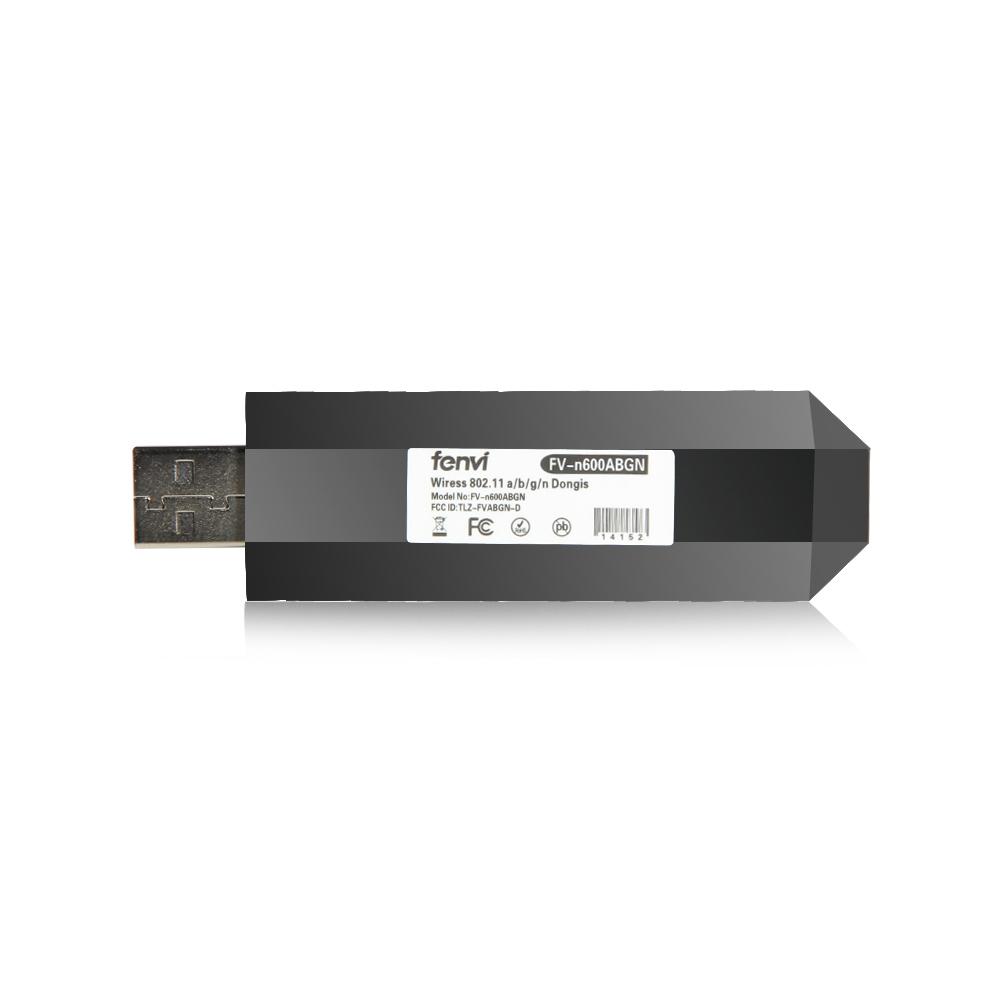 novo 300m 802.11 a/b/g/n 2.4 g / 5 g wireless modem placa de rede de tv usb