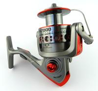 Free Shipping 5.1:1 1BB 7000 Series Fishing Reel bait casting reels metal Fishing Reels Front Drag Spining Reel SK70