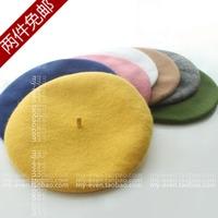 High quality pure woolen sweet all-match fashion beret child parent-child cap for women hat