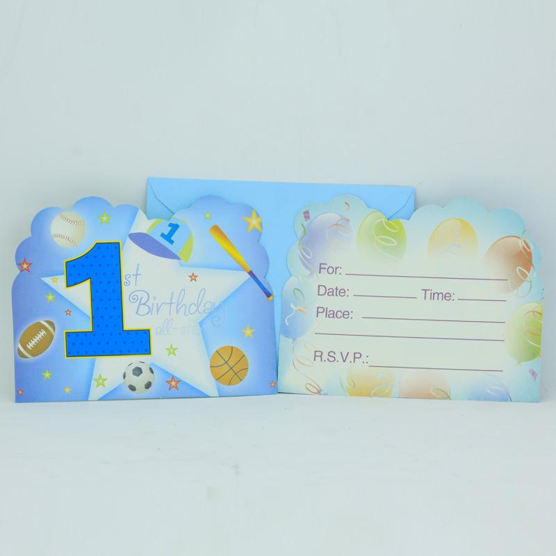 1st Birthday Card Boy Boys 1st Birthday Pattern