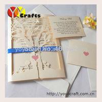 Wedding invitation designs, Laser cut wedding cards, Luxury wedding invitations tree
