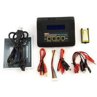 Charger 680AC 5-in-1 DUAL POWER Charger for 1-6 Cell Li-ion, LiPo and LiFe Batteries w/ USB PC Charging/Monitor Software + Po