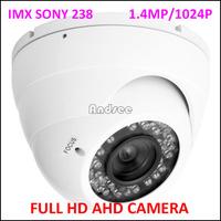 "Newest AHD HD Camera 720P 1/3"" IMX238 CMOS+ 2431H AHD CCTV Camera With OSD AS-AHD2307S"