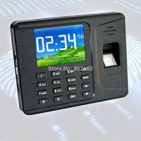 NEW A-E260 Soco Ingles Software Color English Punch Screen Fingerprint Time Attendance Black#200589