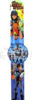 stocking hot new Free shipping 12pcs/lot love SLUGTERRA cartoon  clap watches,children watch,best gift to children