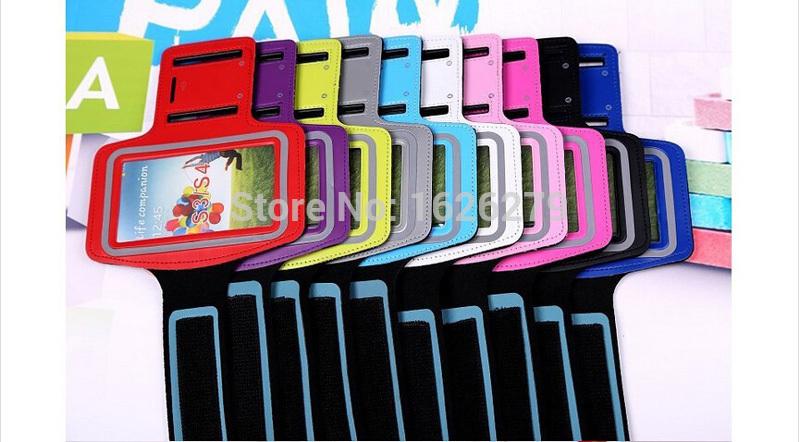 Браслет спорт тренажерный зал упражнение чехол повязку чехол для Samsung GALAXY S5 LTE-A активный спорт S6 край повязки чехол мобильный телефон сумки
