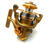 free shipping 9BB Small Mini Fishing Reel Spinning Reel 5.2:1 Ratio Metal head fishing reels QQ168 fishing fly reel