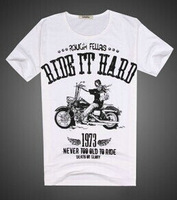 Hot 2015 Summer Basic Men Women Tee Personality Streetwear Cotton lycra Blended T Shirt  Eagle Print Hip Hop Plus Size T-Shirt