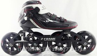 PS professional roller skates, inline speed skate for adults, black white red Patim patins profissionais a2w4r5