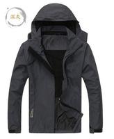 Outdoor Sport softshell jacket men waterproof windproof Thermal Compressed fleece jacket men for hiking Camping skiing