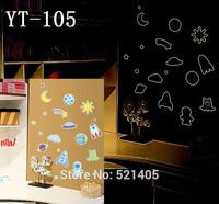 YT-105 Luminous stickers Wall stickers Switch sticker Free Shipping