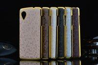 100pcs/lot Luxury Business Style Diamond printing Chromed Edge Hard Case for LG Google Nexus 5 Mobile phone Case 6 color