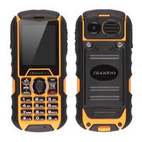 Original Huadoo H1 Waterproof Phone MTK6261A Rugged Dustproof Phone 1700mAh Shockproof Outdoor Phone Multi-language