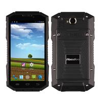 Original Huadoo V4 Waterproof Phone MTK6582V Quad Core 1.3GHz Android 4.4 5.0'' 8.0MP Dustproof Shockproof Outdoor Phone 3600mAh