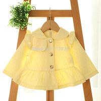 korean  new fall  children girls lace coats Long sleeve clothing   BB406CT-50
