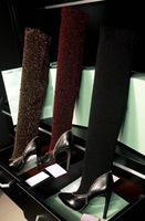New Fashion Elastic Over The Knee Boots Wine Red Point Toe Brand High Heels Boots For Women!