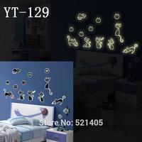 YT-129 Luminous stickers Wall stickers Switch sticker Free Shipping