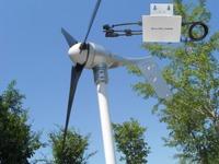 Grid tie 400W wind turbine generator +controller + Waterproof Grid tie inverter