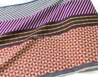 50cm*110cm DIY Patchwork Japanese KOKKA  Linen Fabric Echino By Etsuko furuya Block