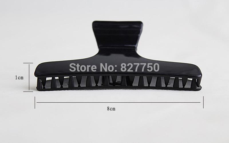 новые пластиковые 12шт черный салон бабочка