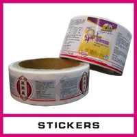 Most demanded product Custom Stickers/Adhesive label printing service