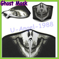 1pcs Outdoor Seal ghost mask CS Balaclava Mask Military Paintball Half Face Motorcycle Skiing Cycling Ghost Masks For Mens